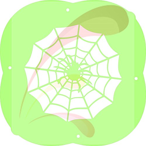 Spider Web, Halloween, Cookie stencil, Cake Stencil, Coffee Stencil, Candy Stencil, Cupcake stencil for Royal Icing, powders, sugars, edible glitters and Airbrushing ()