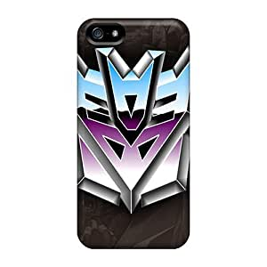 Rosesea Custom Personalized Ideal RentonDouville Cases Covers For Iphone 5 5s decepticons Logo, Protective Stylish Cases