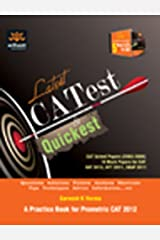 Latest, CATest & Quickest A Practice Book for Prometric CAT 2012 Paperback
