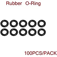 Nidici 100pcs Rubber O-Ring Dampeners Grommets Seal Washer 3mm x 7mm x 2mm for FPV Quadcopter F4 32K Flight Controller