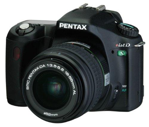 Cheap Pentaxist DS 6.1MP Digital Camera with Pentax DA 18-55mm f/3.5-5.6 AL Digital SLR Lens