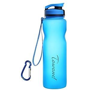 1L BPA Free Tritan Flip Top Water Bottle Leak Proof