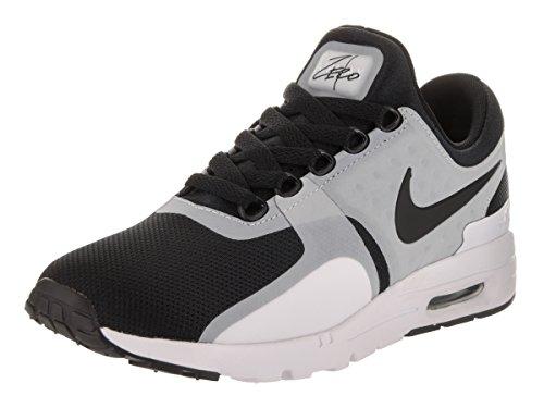NIKE Women's Air Max Zero White/Black Running Shoe 10.5 Women US by NIKE (Image #1)