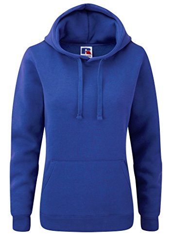 Russell Women's Authentic Hoodie Workwear Sweatshirt Bright Royal (Russell Athletic Wear Women)