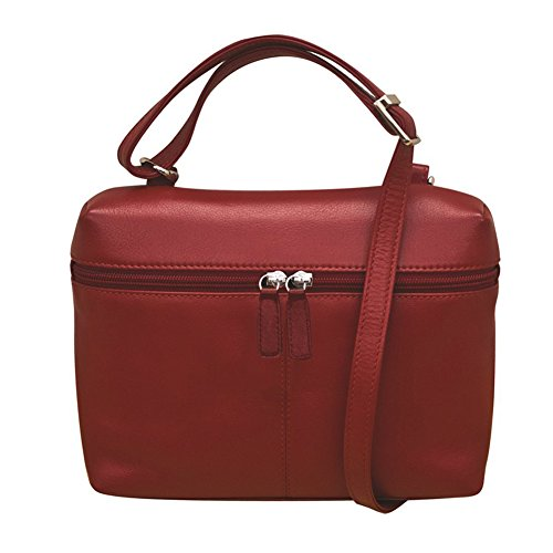 ili body around Red Leather zip 6121 cross SqXrSP