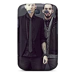 Shock Absorbent Cell-phone Hard Covers For Samsung Galaxy S3 With Support Your Personal Customized Nice Linkin Park Pictures AlissaDubois