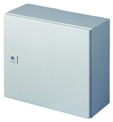 Rittal 1035500 Light Grey 16 Gauge Steel AE Single Door Wallmount Enclosure, 7-7/8'' Width x 11-13/16'' Height x 6-7/64'' Depth by Rittal