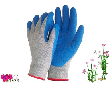 Atlas NT370 Nitrile Garden And Work Gloves, Aster Purple, Small