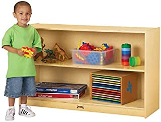 product image for Jonti-Craft 0393JC Low Mobile Straight-Shelf