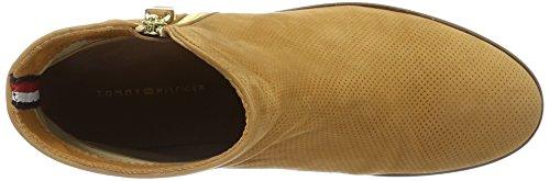 Tommy Hilfiger L1285evin 22n, Botines para Mujer Beige (Cognac 606)
