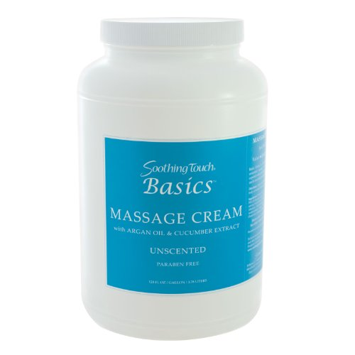 Basic Massage Therapy (Soothing Touch W67348CG Basics Cream, 1 Gallon)