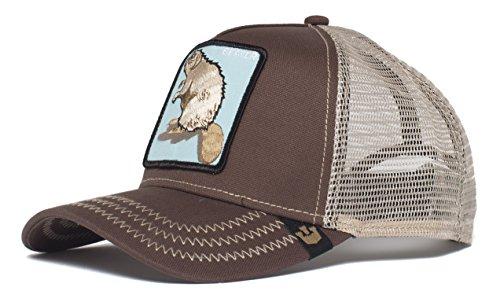 - Goorin Bros. Men's Animal Farm Baseball Dad Hat Trucker, Brown, One Size