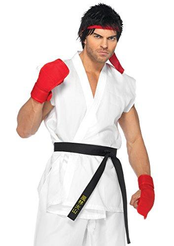 Leg Avenue Men's Street Fighter Ryu Costume