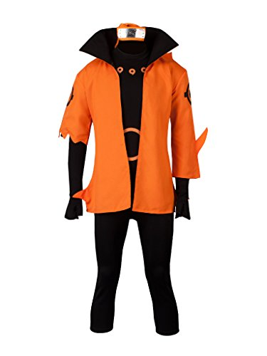 CosFantasy Uzumaki Naruto Ootutuki Hagoromo Version Cosplay Costume mp003608