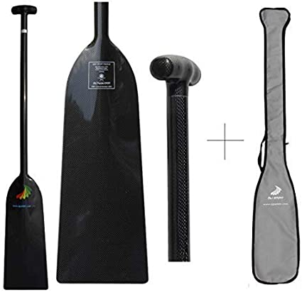 Z/&J SPORT IDBF Approved Carbon Fiber Dragon Boat Paddle with T Handle 52