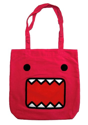 [Domo Kun Pink Face Japan Anime Cool Tote Handbag] (Domo Kun Handbag)
