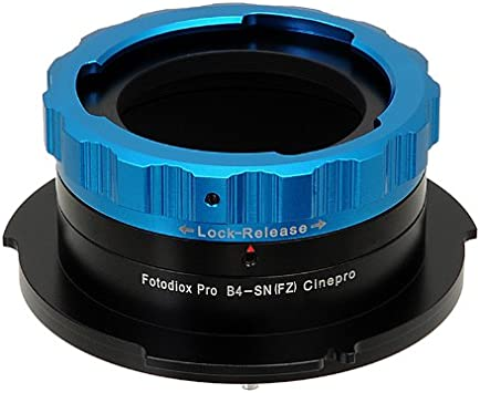 F5 Fotodiox Pro Lens Mount Adapter F55 Digital Cinema Camcorders Leica M Bayonet Mount Rangefinder Lens to Sony FZ Mount Camera Adapter fits Sony PMW-F3