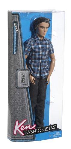 Barbie Ken Fashionistas Ryan Plaid Shirt Doll Buy Online