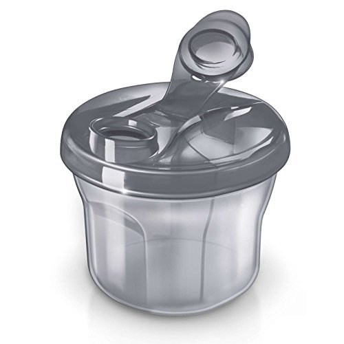 (Philips AVENT BPA Free Formula Dispenser/Snack Cup, Grey )