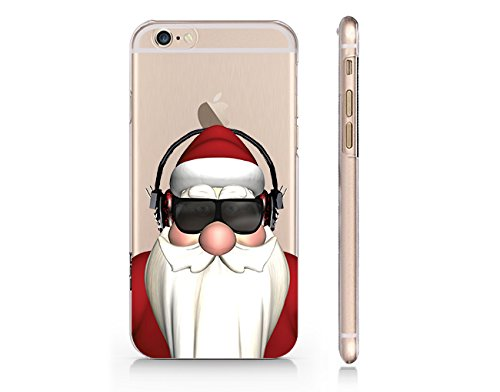 Craftdesign- Santa Claus Feel the Beat Christmas Season Hard Cover Plastic Protection for Iphone 6 Plus Hot Trend Design Pattern