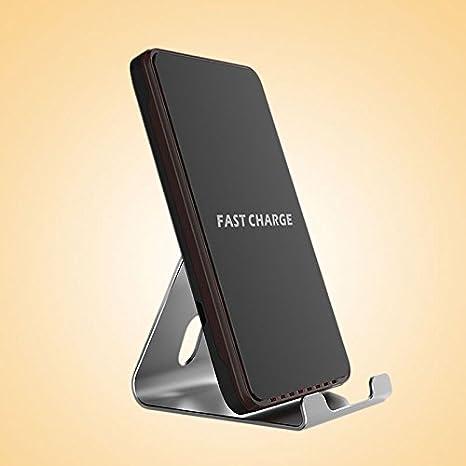 Amazon.com: hongfei Qi cargador inalámbrico rápido 10,8 W ...
