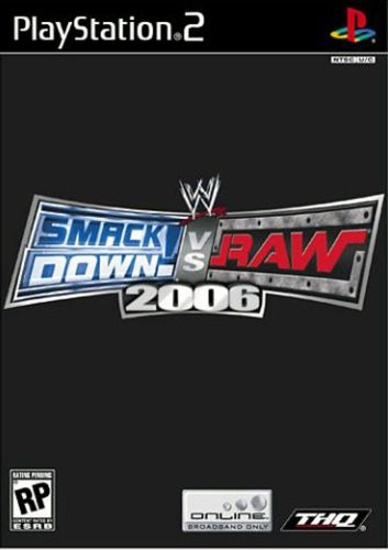 WWE Smackdown vs Raw 2006 - PlayStation - Ps2 Wwe