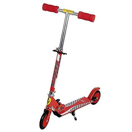 Amazon.com: dakott Ferrari Niños 2 ruedas Scooter, Rojo ...