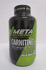 Meta Nutrition Mezcla de Proteínas y Aminoácidos L- Carnitina, 500 Mg, 90 Capsulas