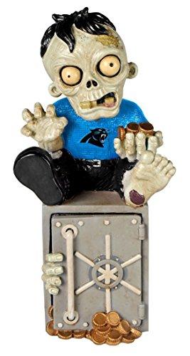 Carolina Panthers Zombie Figurine Bank