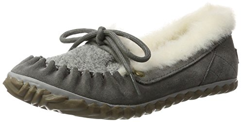 Sorel Women's Out N About Slipper Mocassins Grey (Quarry/Fawn) XHsKnC