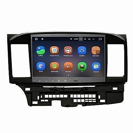 SYGAV Car Stereo for Mitsubishi Lancer EVO X 2008-2017 Radio Android GPS  Navigation Head Unit
