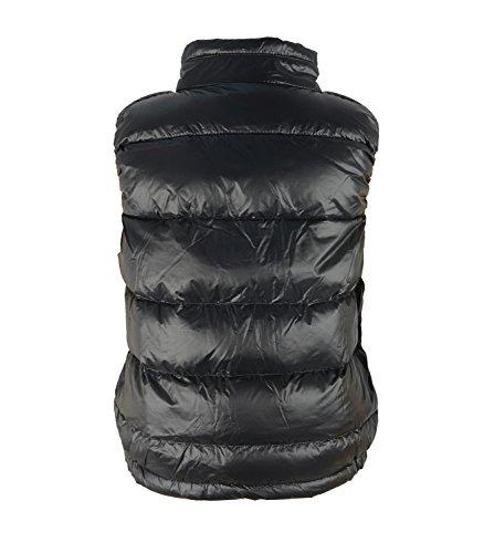 Maglia Rifornisce Grandi Ragazze Zando Piumino Nero Gilet Della Outwear Cappotto Puffer gWP4F