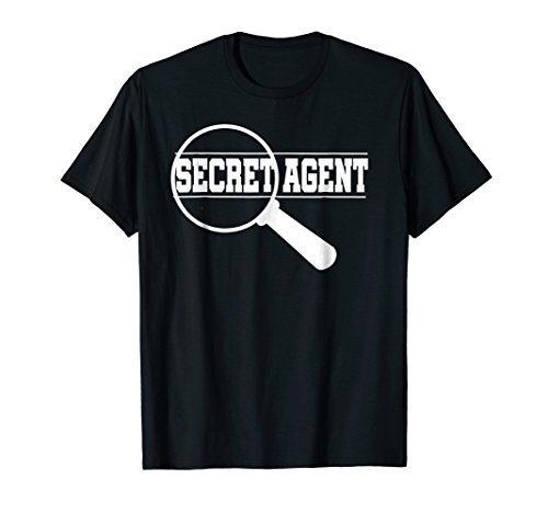 Secret Agent Inspector Spy Costume T-Shirt Adults & Toddlers -