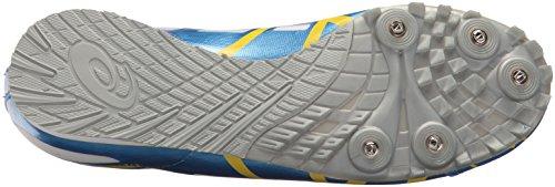 ASICS Women's Hyper Rocket Girl 6 Running Shoe,Malibu Blue/Lemon/White,8.5 M US