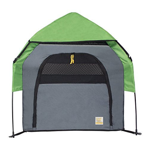 FrontPet Portable Pet Tent Outdoor Pet Kennel With One St...