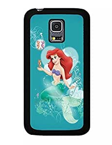 Vivid The Little Mermaid Pattern Unique Design To Reveal Your Elegant Demeanour Drop Proof Case Cover for Samsung Galaxy S5 Mini SM-G800 (UT-434R) Kimberly Kurzendoerfer