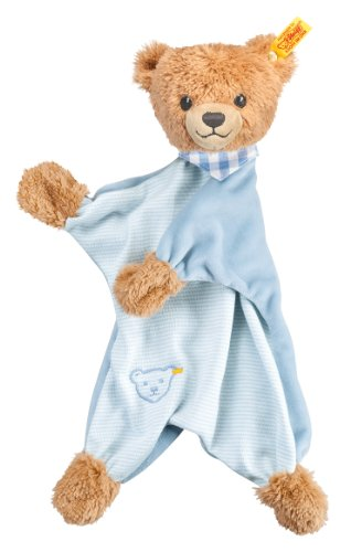 Steiff Sleep Well Bear Comforter, Blue