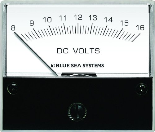 Blue Sea Systems 8003 DC Analog (Blue Sea 8003 Voltmeter)