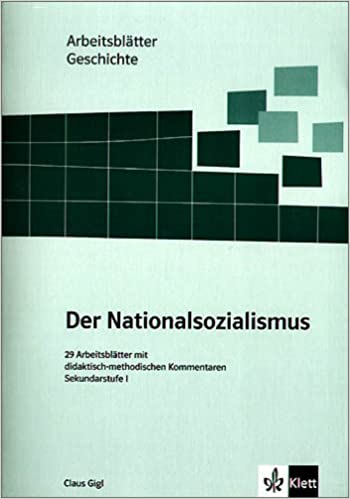 Arbeitsblätter Geschichte - Nationalsozialismus: Sekundarstufe I. 29 ...