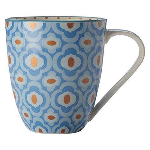 Christopher Vine Cup Mug Linea Azure 500ML Light Blue CV90500
