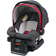 Graco SnugRide SnugLock 35 Infant Car Seat with adjustable base, Chili Red, One Size