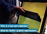 Ecotex DC-Blue - Textile Dual-Cure Screen Printing