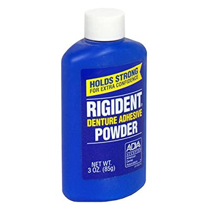 Rigident Adhesive Denture Adhesive Powder - 3 oz