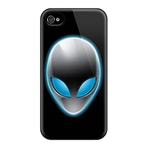 Hot Snap-on Alien Hard Cover Case/ Protective Case For Iphone 4/4s