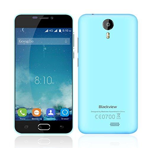 Blackview BV2000 5,0 Zoll Quad Core Dual SIM 4G-Smartphone Android 5,1 1GB+8GB Dual 5M+8M Kamera Handy ohne Vertrag GPS Multi-Touch-Screen
