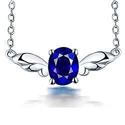 Natural Sapphire Ruby Tourmaline Pendant