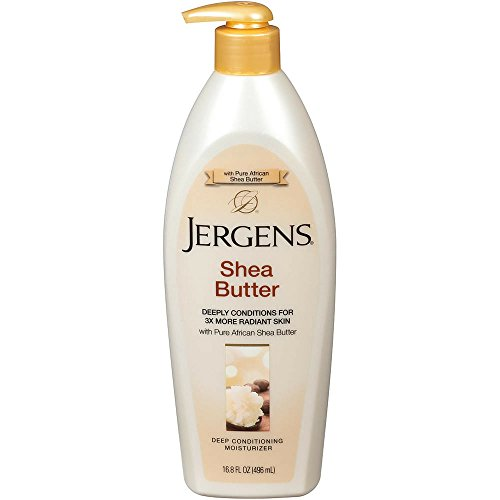 Jergens Shea Butter 16.8 Ounce Pump 498ml 3 Pack