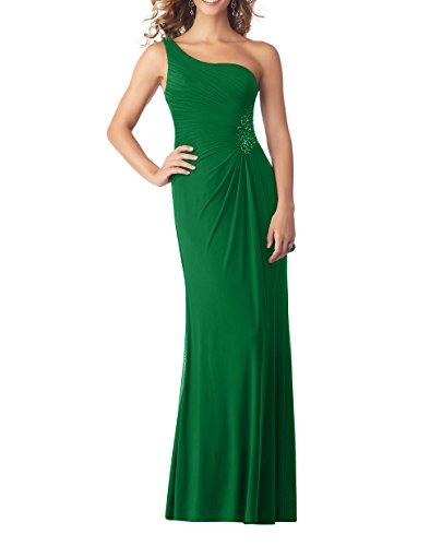 Partykleider Etuikleider Neu Elegant Gruen Traeger Abendkleider 2018 Chiffon Charmant Brautmutterkleider Lang Damen Jaeger Ein qHx88vw
