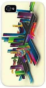 Diabloskinz D0026-0007-0006 Colour Picker - Carcasa impresa para iPhone 4 y 4S