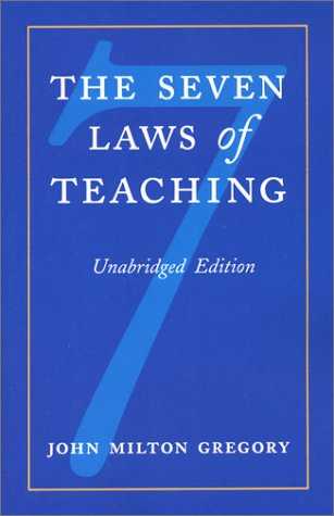 Download The Seven Laws of Teaching ebook